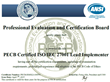 Six Additional New ISO 27001 Lead Implementers Certified for Pivot...