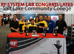 RF System Lab Congratulates Salt Lake Community College on their AMC win.