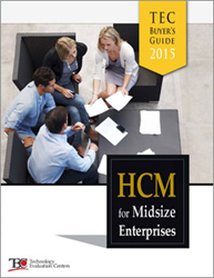 Technology Evaluation Centers (TEC) Releases 2015 HCM Software Buyer's Guide Featuring the Latest Best Practices and Innovative HCM Technologies