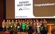 The CauseEngine team on stage with the other participants following the pitch competition.