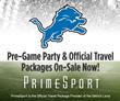 PrimeSport Announces Official Detroit Lions Fan Packages Now Available...
