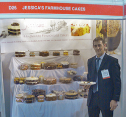 Richard Bowditch of Jessica's Farmhouse Cakes