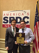 Disabled Iraq War Veteran Receives SBDC Veteran Entrepreneur Of The Year Award