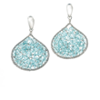 INIZI Weaved Apatite Sterling Silver Earrings