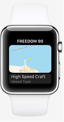 Boat Watch app on Apple Watch