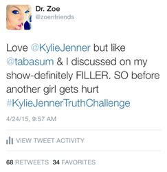 Doctors Start #KylieJennerTruthChallenge