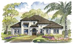luxury custom homes model