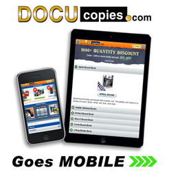 ocuCopies.com's new dedicated mobile site brings the office to your pocket.