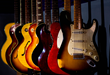 Michael's collection that includes Gibson, Fender, Martin, Yamaha and more.