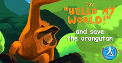 Find out how you can help save the endangered orangutan and rainforest. Join us as Helen Doron students worldwide raise awareness for this cause.