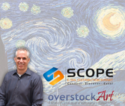overstockArt.com CEO to Speak at SCOPE: An E-Tail Distribution & Supply Chain Conference