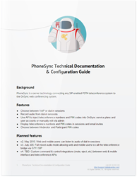 "Technical Documentation of Digital Samba OnSync's new Universal Communication features ""PhoneSync"""
