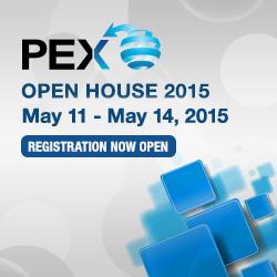 PEX Open House registration