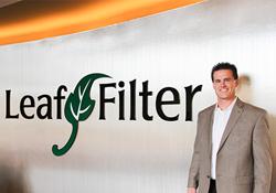 Matt Kaulig, Owner and President of LeafFilter Gutter Protection.