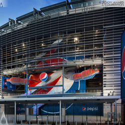 Pepsi MetLife Stadium by PepsiCo Design & Innovation, Pentagram