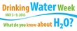 """AWWA and Water Community Highlight Theme """"What do you know about H2O?""""..."""