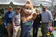 The Almstead Team (left-right) Jon Olsz, Arborist; Ryan Duff, arborist; Patti Balliet, Office Manager; Mike Almstead, VP at the Ridgewood Earth Day Celebrations