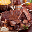 "Jack Stack's famous barbecue was named ""Highest-rated barbecue in the country"" by Zagat."