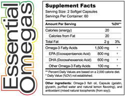 Hardy Nutritionals® Essential Omegas