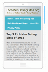 RichMenDatingSites.org - Top 5 Rich Men Dating Sites of 2015