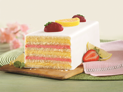 Celebrate Mother's Day with a Strawberry Lemon Torte from SwissColony.com