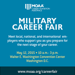 MOAA to Host Comprehensive Military Career Fair with Transition Workshops