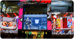 Launching the movie 'Transformers: Age of Extinction'