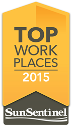 Sun Sentinel Names Cruise Planners Home Office to South Florida's Top Workplaces