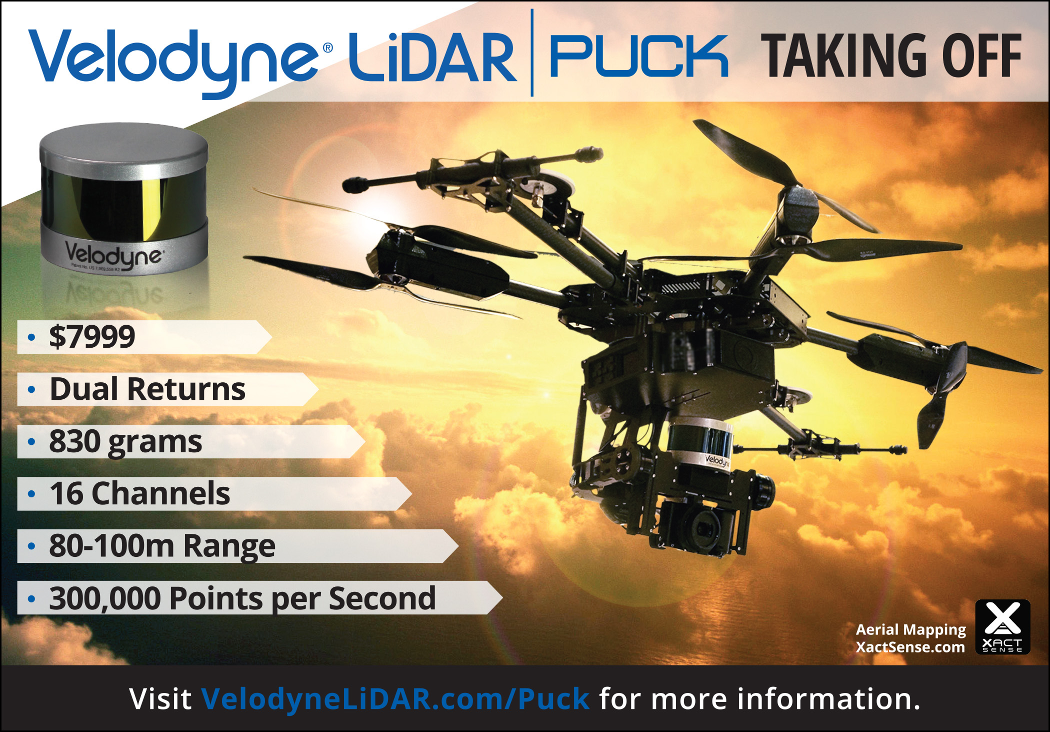First Choice Automotive >> Velodyne's VLP-16 LiDAR Puck Scores for Multiple Mobile ...