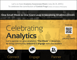 Analytics Awareness Week