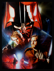 Star Wars Revenge of The Sith Poster by Ciara McAvoy