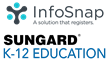 InfoSnap and SunGard K-12 Education Logos