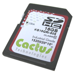 Extremely Reliabile Industrial SD Card