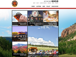 Rio Grande Scenic Railroad Website Launch