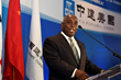 Philip E. Brave Davis, Deputy Prime Minister and Minister of Works and Urban Development of The Bahamas, acknowledges CCA's contribution to the Bahamian economy and commends CCA for its resourcefulnes