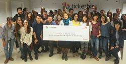 Ticketbis donates nearly 14,000 euros to World Vision NGO