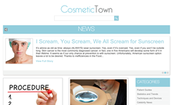 Cosmetic Town has introduced Cosmetic Town News