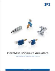 PiezoMike Miniature Actuators Brochure