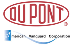 DuPont and American Vanguard Corp Logos