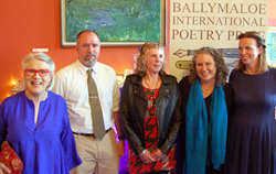 Lisa Bickmore, pictured second from right. Photo by, Darina Allen