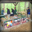 Gardening, soil conservation and native plant demonstrations were enjoyed by RiverFest participants.