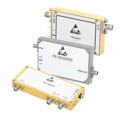 Pasternack Announces New Log Video Amplifiers with Broadband Performance Up to 18 GHz