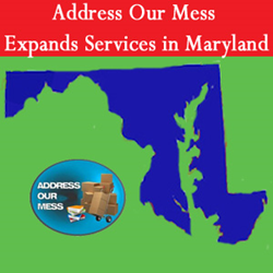 Due to increase in demand in the specialty cleaning industry, Address Our Mess has added new services to the state of Maryland.