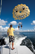 Parasailing on Pensacola Beach.