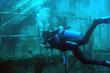 Scuba diving the USS Oriskany.