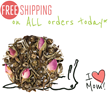 The Tea Spot Is Celebrating Mother's Day by Offering Complimentary Shipping to Online Customers to Encourage Healthy Gift Giving