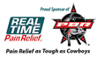 Real Time Pain Relief (RTPR), makers of the popular rub-on pain relief lotion and products has reached an agreement with the Professional Bull Riders (PBR) to sponsor six of the PBR's 2015 Built Ford