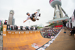 Monster Energy's Pierre Luc Gagnon Wins Skate Vert Contest at the KIA World Extreme Games in Shanghai