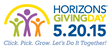 Horizons/Hampton Roads/Giving Day/May 20/2015