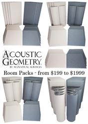 Acoustic Geometry Room Packs